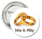 Katalog bedževa za venčanja za 2016-u